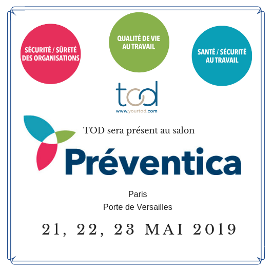 TOD will be present at the Preventica exhibition